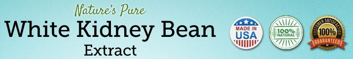 white kidney bean extract for weight loss - banner